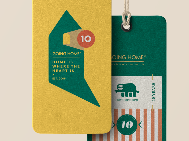 GOING HOME 10TH Design