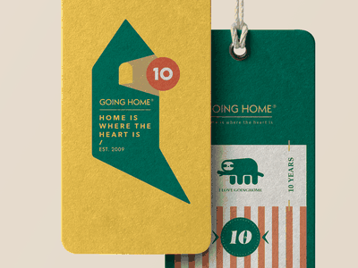 GOING HOME 10TH Design typography china illustration vintage ui branding design logo