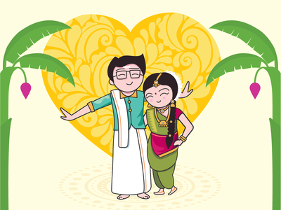 South Indian Designs Themes Templates And Downloadable Graphic Elements On Dribbble