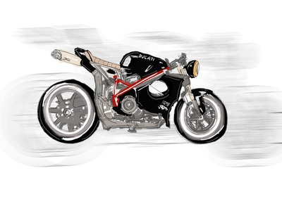 Ducati art graphicdesign motorcycle ducati illustration