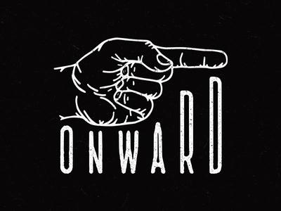 Onward apparel clothing tshirt tee design illustration