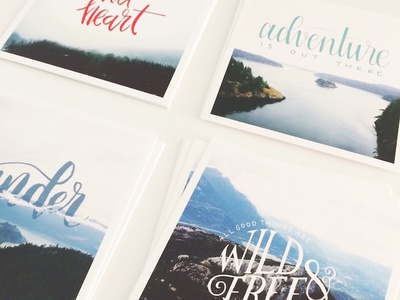 Lily Paper Co - lettering prints