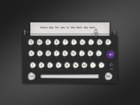 Keyboard Typewriter And Dialog Chat Preview A