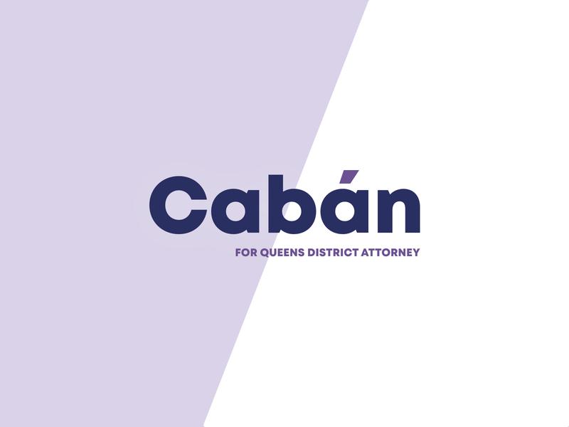 Cabán for Queens Campaign Logo logo politics branding design