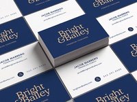 Bright & Bailey Business Cards