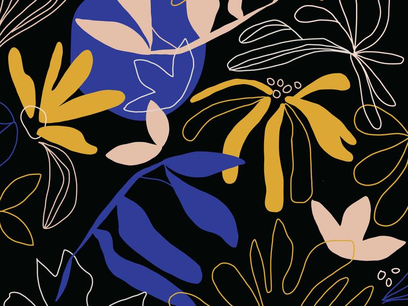 Floral Pattern floral design floral pattern hand drawn branding graphic design illustration