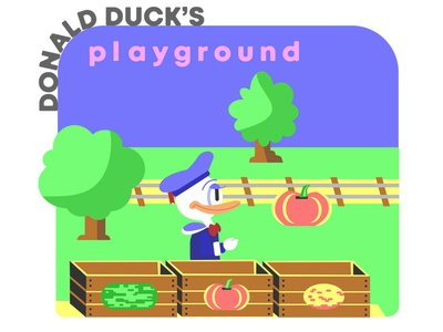 Donald Duck's Playground (1984)