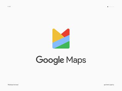 Google Maps branding concept google icon mark chrome google logo logo redesign google icons map google maps