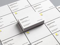 Geometric. Business Card.