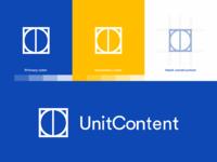 UnitContent. Logo.