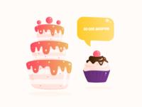 Cake & Muffin
