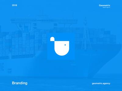 Shipping Transportation Company Logo Design