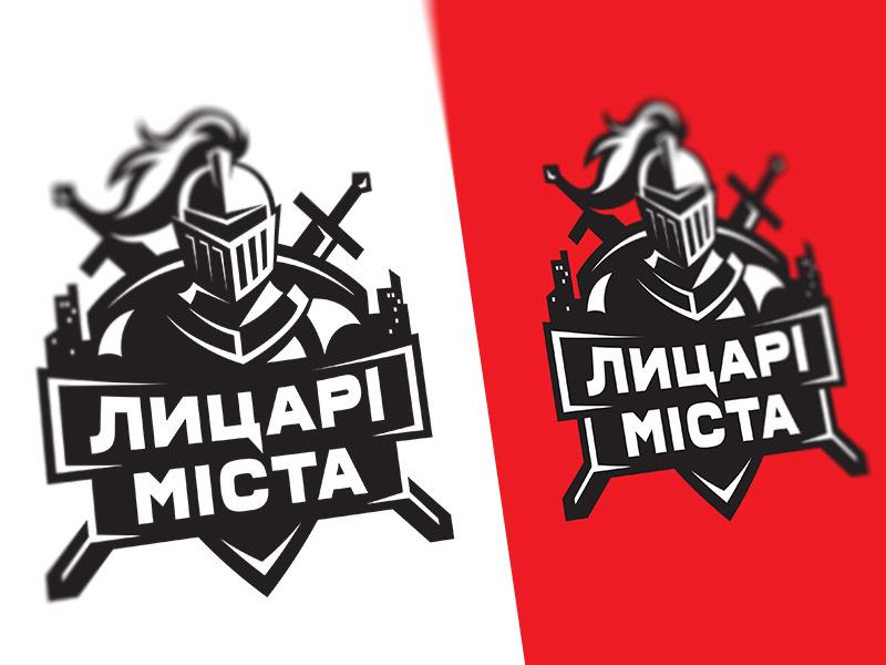 Knights of the City city knight crest identity illustration