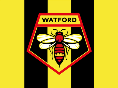 Watford FC redesign concept talenthouse soccer crest logo badge watford fc watford premier league hornet football sport logotype design