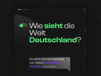 Weglot for Germany webflow agency german agency madeinwebflow storytelling showcase map germany refokusagency refokus weglot animation illustration design website webflow ui web design web landing