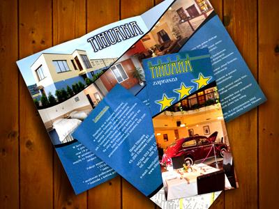 Hotel brochure brochure design print hotel