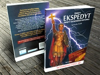 Saint Expeditus saint expeditus book cover design