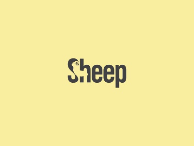 Sheep logo corporate branding animal logo negative space logo futuristic logo design typogaphy tranding logo modern logo icon minimal app grandient branding creative logo
