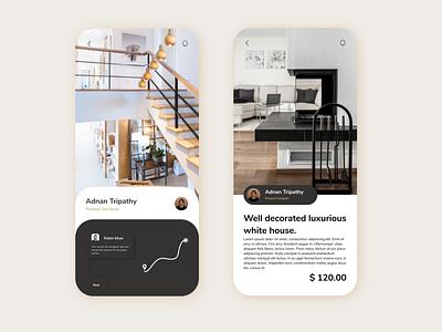 find new house mobile app ux vector logo ui branding minimal illustrator illustration graphic design design