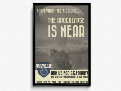 The Apocalypse - GGUAB Poster Contest