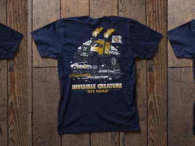 Invisible Creature & Friends tshirt invisible creature
