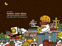 Father John Misty at The Paramount