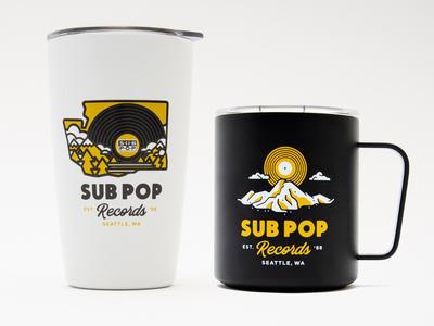Sub Pop Miir Mugs