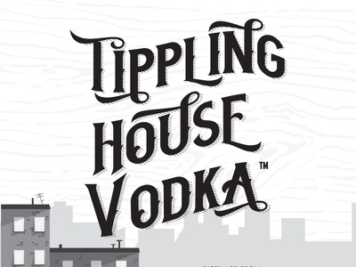 Tippling House Vodka house tippling distilling booze lawless liquor vodka