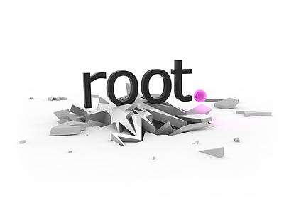 root - 3D Art work art work 3d root