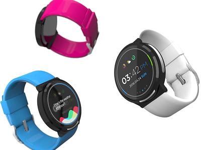 IX Watch – concept design ux interaction 3d work concept design ix watch smart watch