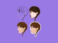 Sticker process