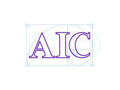AIC logo design