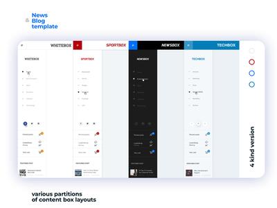 Newsbox web design