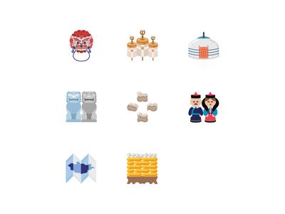 Mongolian Items.Emoji