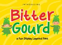 Bitter Gourd Display Font