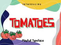 Tomatoes Playfull Font