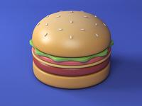 Burger-Material practice