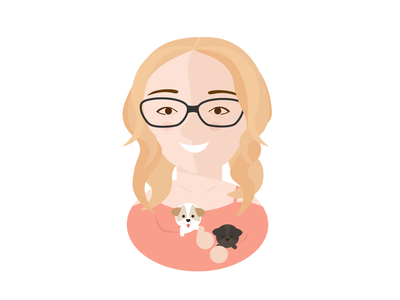 Becca the puppy owner