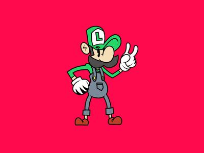 Ilustración Luigi