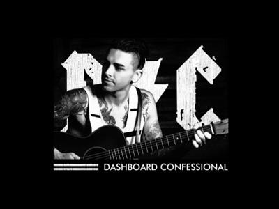 Dashboard Confessional - T-shirt Tour 2016 dashboard confessional apparel design music band tshirt merch