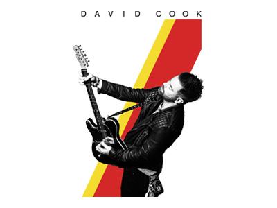 David Cook david cook apparel design music band tshirt merch