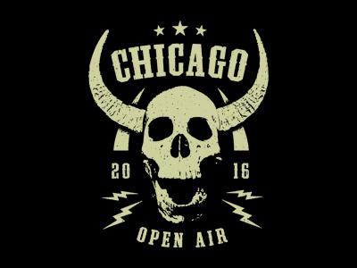 COA 2016 band metal rock skull apparel merch music chicago fest tee