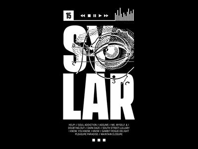SYLAR - Tracks merch t-shirt tour spring merchandise illustration graphic design ny band merch band sylar