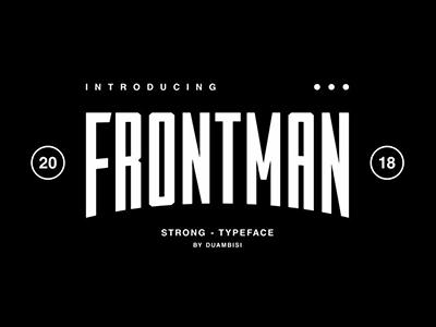 FROTMAN - Typeface