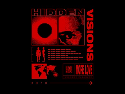 Hidden Visions australia clothing brand t-shirt apparel design