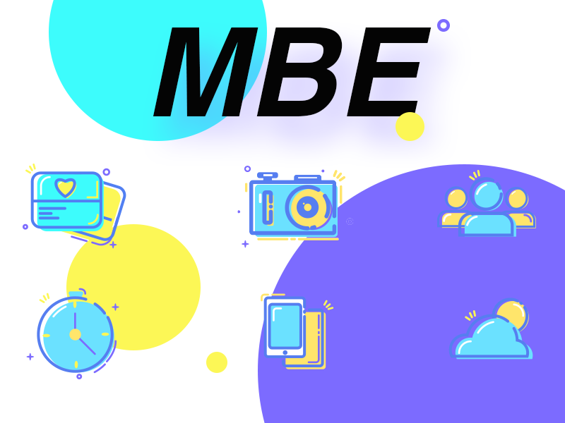 MBE Icon design icon mbe
