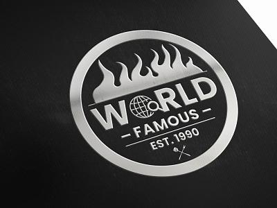 RESTAURANT AND FOOD LOGO restaurant logo world food food logo illustration design creative logo creative geometric shapes business and custom logo rayhank2 logo graphic design branding restaurant and food logo