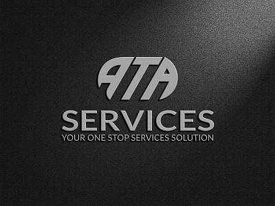 ata letter logo design letter logo logo design vector illustration design creative logo business and custom logo rayhank2 logo graphic design branding ata logo ta at ata ata letter logo design