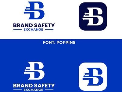 Brand Safety Exchange logo design bse letter logo bse logo bse seafty logo vector illustration design creative logo business and custom logo rayhank2 logo graphic design branding