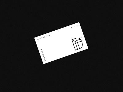 DA Branding logos identity type lettering cards businesscard logotype branding logo brand design